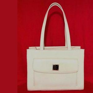 Dooney & Bourke Leather 'Janine Front Pocket' Bag